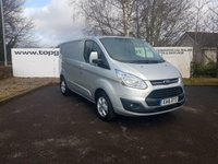 2016 FORD TRANSIT CUSTOM 270 2.2 125 BHP LIMITED L1 H1 5 DOOR ***70 VANS IN STOCK*** £12250.00