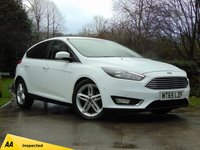 USED 2015 65 FORD FOCUS 1.5 TITANIUM TDCI 5d 118 BHP 128 POINT AA INSPECTED*** MANUFACTURER'S WARRANTY