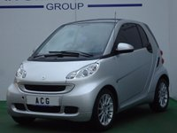 2011 SMART FORTWO 1.0 PASSION MHD 2d 71 BHP £3250.00