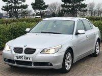2005 BMW 5 SERIES 3.0 530I SE 4d AUTO 255 BHP £4695.00