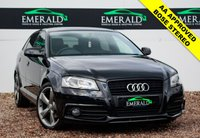 USED 2012 62 AUDI A3 2.0 SPORTBACK TDI S LINE SPECIAL EDITION 5d 138 BHP S LINE HALF LEATHER, BOSE SOUND SYSTEM, AUDI CONCERT, HEATED MIRRORS, CLIMATE CONTROL, £0 DEPOSIT FINANCE AVAILABLE**