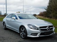 2013 MERCEDES-BENZ CLS CLASS 3.0 CLS350 CDI BLUEEFFICIENCY AMG SPORT 4d AUTO 265 BHP £17990.00