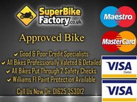 USED 2012 62 KAWASAKI ER-6F CBF  GOOD & BAD CREDIT ACCEPTED, OVER 500+ BIKES IN STOCK