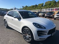 USED 2016 16 PORSCHE MACAN 3.6 TURBO PDK 5d 400 BHP List apx £74,000 with £10,000 in options. Carrera White Metallic