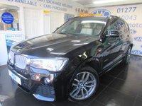 2015 BMW X3 3.0 XDRIVE35D M SPORT 5d AUTO 309 BHP £28495.00