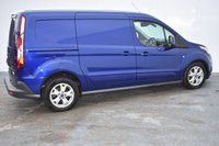 USED 2014 64 FORD TRANSIT CONNECT 1.6 240 LIMITED P/V 1d 114 BHP air con heated screen and abs also with multifunction steering wheel and alloy wheels