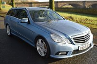 USED 2010 59 MERCEDES-BENZ E CLASS 2.1 E250 CDI BLUEEFFICIENCY SPORT 5d ESTATE AUTO 204 BHP REAR PRIVACY GLASS, AMG BODY STYLING, AMG ALLOYS, BLUETOOTH PREP ECT ECT..............