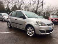 2007 FORD FIESTA 1.4 STYLE CLIMATE 16V 5d 78 BHP PART EXCHANGE TO CLEAR MOT JAN 19 £1750.00