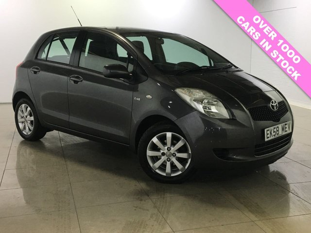 View our 2008 58 TOYOTA YARIS 1.4 TR D-4D 5d 89 BHP