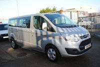 2015 FORD TOURNEO CUSTOM 2.2 300 LIMITED TDCI 5d 124 BHP £14500.00