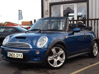 USED 2005 T MINI CONVERTIBLE 1.6 COOPER S 2d 168 BHP FULL SERVICE HISTORY 6 STAMPS IN BOOK, NEW  MOT, GREAT CONDITION