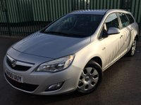 USED 2011 60 VAUXHALL ASTRA 1.7 EXCLUSIV CDTI ECOFLEX 5d 108 BHP CRUISE FSH MOT 01/19 SILVER MET WITH GREY CLOTH TRIM. CRUISE CONTROL. COLOUR CODED TRIMS. AIR CON. R/CD PLAYER. 6 SPEED MANUAL. MFSW. MOT 01/19. ONE PREV OWNER. FULL SERVICE HISTORY. TEL 01937 89492
