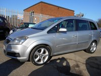 2007 VAUXHALL ZAFIRA 1.9 SRI CDTI 16V 5d AUTO 150 BHP £1995.00