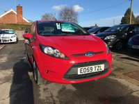 USED 2009 59 FORD FIESTA 1.2 STYLE PLUS 3d 81 BHP NEED FINANCE? WE STRIVE FOR 94% ACCEPTANCE