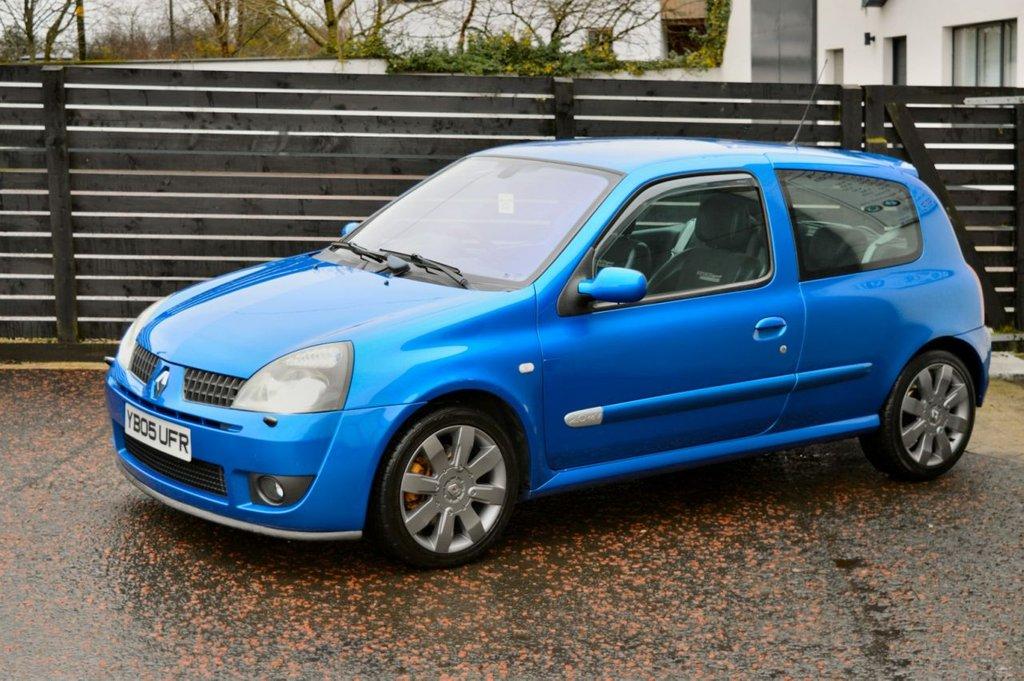 Renault Clio 2 0 16v Renault Racing 182 Top Spec Low Mile Artic Blue Fsh