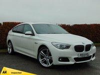 USED 2013 13 BMW 5 SERIES 2.0 520D M SPORT GRAN TURISMO 5d AUTO  SATELLITE NAVIGATION & BLUETOOTH