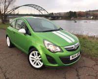 USED 2014 14 VAUXHALL CORSA 1.2 STING AC 3d 83 BHP **RARE BRIGHT GREEN STING**