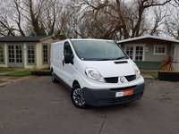 2014 RENAULT TRAFIC 2.0 LL29 DCI S/R P/V EXTRA 1d 115 BHP £7000.00