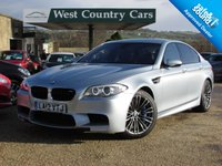 USED 2012 12 BMW 5 SERIES 4.4 M5 4d AUTO 553 BHP Previously owned by a BMW Specialist and currently averaging 25MPG