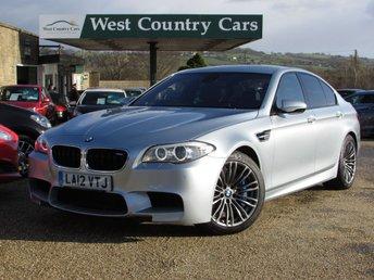 2012 BMW 5 SERIES 4.4 M5 4d AUTO 553 BHP