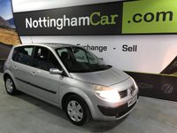 USED 2005 55 RENAULT SCENIC EXPRESSION 16V