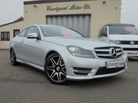 2012 MERCEDES-BENZ C CLASS 2.1 C250 CDI BLUEEFFICIENCY AMG SPORT PLUS 2d AUTO 202 BHP £11495.00