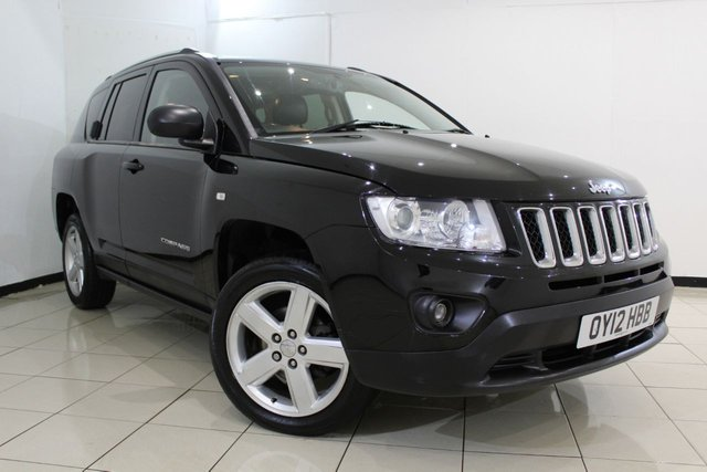 View our 2012 12 JEEP COMPASS 2.1 CRD LIMITED 4WD 5DR 161 BHP