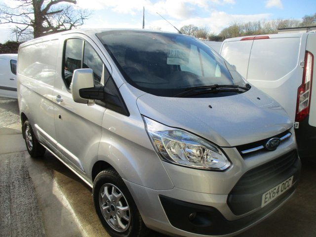 2014 64 FORD TRANSIT CUSTOM 2.2 270 LIMITED SWB L1 H1 125 BHP