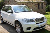 2011 BMW X5 3.0 XDRIVE40D M SPORT 5d AUTO 302 BHP £18500.00