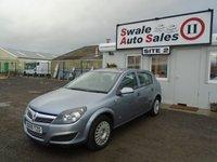 2009 VAUXHALL ASTRA 1.8 LIFE A/C 16V E4 5d AUTO 140 BHP £3195.00