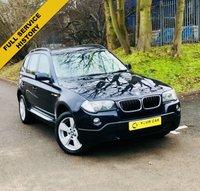 2007 BMW X3 2.0 D SE 5d 148 BHP £5295.00