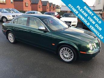 2006 JAGUAR S-TYPE 2.7 V6 SE 4d AUTO 206 BHP £SOLD