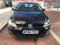 USED 2014 64 VOLKSWAGEN GOLF 1.6 MATCH TDI BLUEMOTION TECHNOLOGY DSG 5d AUTO 103 BHP
