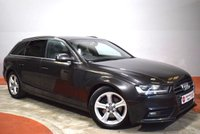 2014 AUDI A4 2.0 TDI ULTRA SE TECHNIK Avant Full Audi History 1 Owner £10450.00
