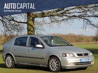 2003 VAUXHALL ASTRA 1.6 SXI 16V 5d 99 BHP £690.00