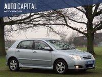 2005 TOYOTA COROLLA 1.6 T3 VVT-I 5d 109 BHP £1999.00