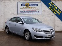 USED 2014 64 VAUXHALL INSIGNIA 2.0 DESIGN CDTI ECOFLEX S/S 5d 118 BHP Full Dealer History DAB A/C 0% Deposit Finance Available