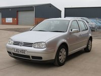 USED 2002 02 VOLKSWAGEN GOLF 1.9 Diesel 2 OWNERS FROM NEW