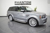 2012 LAND ROVER RANGE ROVER SPORT 3.0 SDV6 AUTOBIOGRAPHY SPORT 5d 255 BHP £26990.00