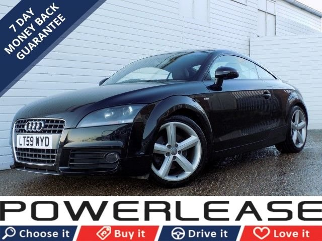 USED 2009 59 AUDI TT 2.0 TFSI QUATTRO S LINE 3d AUTO 197 BHP PART LEATHER P/SENSORS FSH