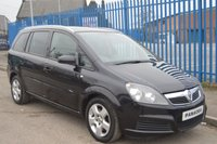 USED 2007 57 VAUXHALL ZAFIRA 1.9 BREEZE CDTI 5d 120 BHP