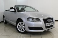 USED 2008 58 AUDI A3 1.9 TDI 2DR 103 BHP SERVICE HISTORY + BLUETOOTH + AIR CONDITIONING + ELECTRIC WINDOWS + 16 INCH ALLOY WHEELS