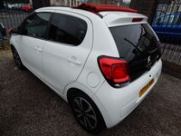 USED 2014 64 CITROEN C1 1.2 PURETECH AIRSCAPE FLAIR 5d 82 BHP ELECTRIC FOLDING ROOF, DAB RADIO, AIR CONDITIONING,F.S.H, ALLOY WHEELS