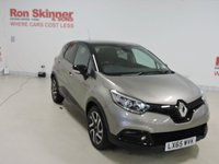 USED 2015 65 RENAULT CAPTUR 1.5 DYNAMIQUE S NAV ENERGY DCI S/S 5d 110 BHP with Black Roof