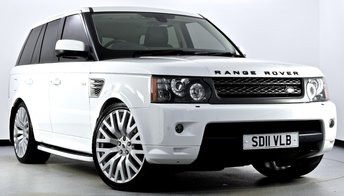 2011 LAND ROVER RANGE ROVER SPORT 3.0 TD V6 HSE 5dr Auto £21995.00