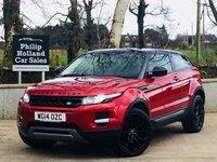 2014 LAND ROVER RANGE ROVER EVOQUE 2.2 SD4 PURE TECH PACK 3d 190 BHP 4X4 £20995.00