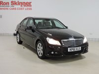 USED 2011 61 MERCEDES-BENZ C CLASS 1.8 C180 BLUEEFFICIENCY SE EDITION 125 4d 156 BHP