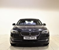 USED 2010 60 BMW 5 SERIES 3.0 530D SE 4d AUTO 242 BHP + 2 PREV OWNER + SAT NAV + AIR CON + AUX + BLUETOOTH