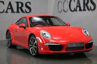 USED 2013 13 PORSCHE 911 991 3.8 CARRERA 4S PDK 2d AUTO 400 BHP Guards Red / Full Natural Red Leather, Heated Seats, Porsche Crest Embossed, Sports Seats Plus (Electrical 4 Ways), Sport Chrono Package, 20 Inch Carrera Classic Alloy Wheels, (PCM) Porsche Communication Management including Satellite Navigation + Bluetooth Telephone Connectivity + USB Audio Interface, BOSE Surround Sound System, Leather Sport Design Steering Wheel + Paddle Shift, Automatic Bi-Xenon Headlights + Power Wash,