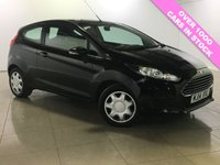 USED 2014 14 FORD FIESTA 1.5 STYLE TDCI 3d 74 BHP One Owner From New/Air Con